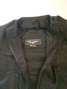 Street Steel motorcycle jacket padded 4xl