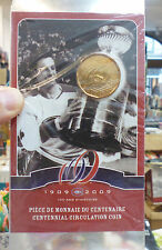 Montreal Canadiens CENTENNIAL CIRCULATION COIN uncirculated dollar JEAN BELIVEAU