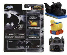 "JADA BATMAN BATMOBILE, THE PENGUIN DUCK & PENGUIN RIDE 1.65"" 3 PIECE SET 31616"
