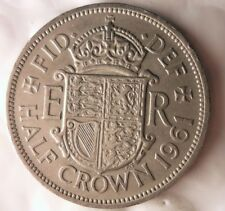 1961 Great Britain 1/2 Crown - Collectible Coin - Britain Half Crown Bin