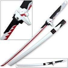 Overwatch Katana Genji Sword WHITE/RED Dragonblade Cybernetic Warrior Steel OW
