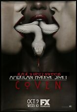"""Original AMERICAN HORROR STORY 48"""" X 70"""" Double Sided Bus Shelter Poster #3"""