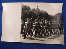 ancien photo guerre militaire lyon occupation wehrmacht 1940 defilé bellecour