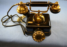 Rotary Dial Telephone Vintage Princess Desk French Victorian Japan Made JN-4