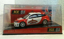 qq 60920 SCX FORD FOCUS LONDON TOY FAIR 2002 BACHMANN L.E. SCALEXTRIC SPAIN