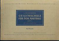 L. FRIEDEMANN - GEIGENSCHULE FÜR DEN ANFANG Heft 1