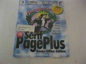 Serif Page Plus sealed CD-ROM Windows 95 Serif 1995