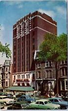 MONTREAL, QUE Canada  The BERKELEY HOTEL Street Scene   c1950s  Cars  Postcard