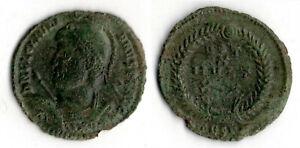 JULIEN II (361 363) BUSTE AVEC CASQUE LANCE ET BOUCLIER