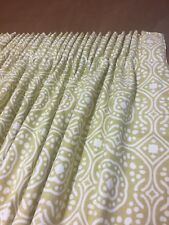Romo Cubis Chella Linen Curtains 7745/01, Hand Sewn, Made To Measure, All Cols