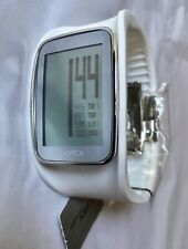 Philippe Starck Digital LCD White PH1121 Multi Function Watch Easy To Read NWT!