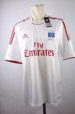 125 Jahre HSV Hamburger SV Trikot Gr. XL Herren Home Adidas 2012 Emirates weiß