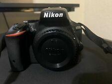 99635) Nikon D5500 24.2MP Digital SLR Camera- Black w/ 18-55mm Lens And 70-300mm