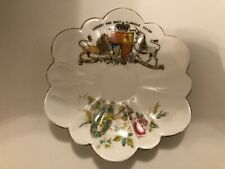 1897 Queen Victoria Diamond Jubilee Souvenir Saucer by The Foley China