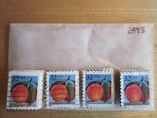 # 2493 x 100 Used US Stamps Lot  Peach Issue  See our other lots