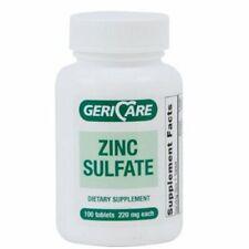 Mineral Supplement Geri-Care Zinc Gluconate 220 mg Stre