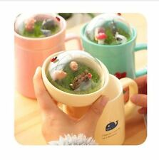 New Top Quality Ceramic Cute Totoro Cartoon Style Kids Thermos Outdoor Water Cup