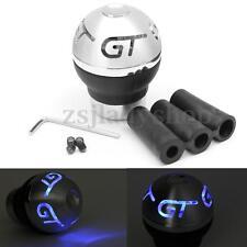 Universal Blue LED Light Car Auto Manual MT Gear Stick Shift Knob Lever Shifter