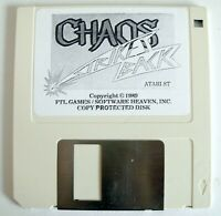 Rare CHAOS STRIKES BACK Atari ST Sequel of DUNGEON MASTER - ST STF STE 520 1040