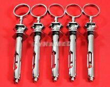 Lot Of 5 Pcs 18cc Stainless Steel Dental Aspirating Syringe Dental Instruments