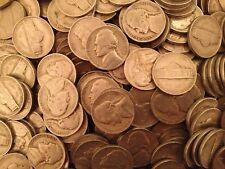 One (1) Roll of 1942-D Type 1 Jefferson Nickels (40 Coins)