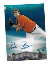 2014 Bowman Platinum Prospect Autographs Blue Refractors #APBB Bryce Bandilla