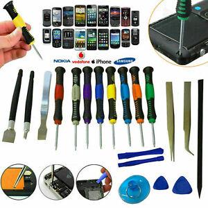 20PC MOBILE PHONE REPAIR TOOL SCREWDRIVER SET OPENING PRECISION PRY SPUDGER TOO
