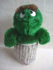 SESAME STREET Applause OSCAR THE GROUCH monster plush toy 1989 Henson Muppet