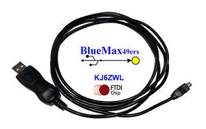 FTDI Uniden Scanner Programming cable BCD396T BCD396XT USB-1