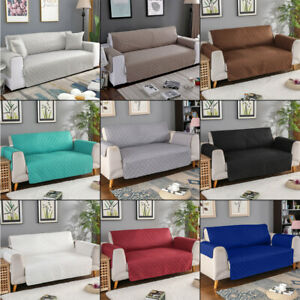 1/2/3 Seater Pet Sofa Cover Quilted Couch Covers Lounge Protector Slipcovers
