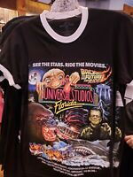 New Universal Studios Florida Retro Logo 30th Anniversary Shirt Large ET Kong L