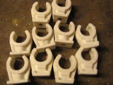 Rohrclip, Kunststoff, Schelle,  Rohrschelle für Kupferrohr, Rohr, 10 St.