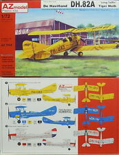 "DH-82 A Tiger Moth ""Long Tailfin"", Dutch, 1:72, AZ, Plastik, NEUHEIT! New Tool !"