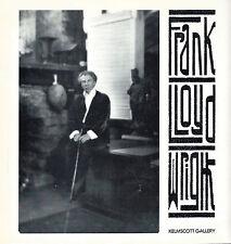 Frank Lloyd Wright Catalogue & Facsimile Reprint of Hardy House/Kelmscott, 1981