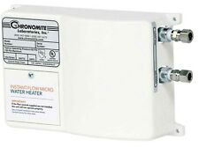 Chronomite M-15L/277 Instant-Flow Micro Tankless Electric Hot Water Heater 104F