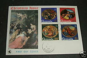 Grenada 1968 Christmas FDC Cover