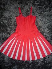 Robe bain de soleil BODEN rose et blanche 10R=38 - Watermelon & white sun dress