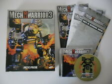 MECH WARRIOR 3 - PC - BIG BOX COMPLET - RARE