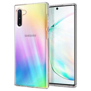 Samsung Galaxy Note 10, 10 Plus/10 Plus 5G Case | Spigen®[Liquid Crystal] Clear