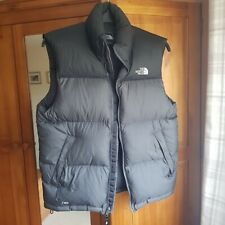 North face gilet body warmer puffer jacket mens size small used