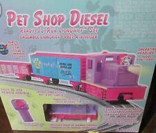 "Lionel Electric ""Pet Shop Diesel"" Remote Control O-Scale Train Set New in Box ."