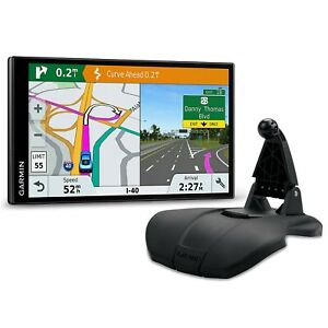 Garmin DriveSmart 61 LMT-S NA Mapping GPS Friction Mount Bundle 010-01681-06