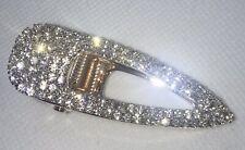 Bling Sparkly Hair Clip Crystal Diamantes Rose Gold Hair Slide Hair Pin Shimmer