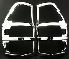 Ford Ranger Mk5 T6 2012-2015 CHROME REAR TAIL LIGHT LAMP COVERS TRIMS SURROUNDS