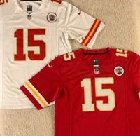 NWT Patrick Mahomes #15 Kansas City Chiefs MEN'S Stitched RED/WHITE/BLACK Jersey
