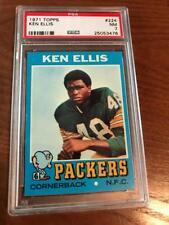 1971 Topps Football PSA 7 Ken Ellis #224