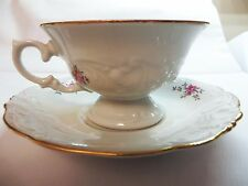 Vintage China Cup & Saucer Tea Rose Style House Collection Shabby Cottage Chic!