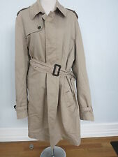 Burberry London Beige Trenchcoat Größe 56 US XL