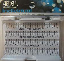 Ardell Duralash REGULAR MEDIUM Individual SINGLE Eyelashes Black / 10 pack