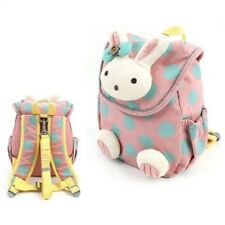 Toddler Kid Children Girl Animal Backpack Bag Rucksack Safety Harness with Reins